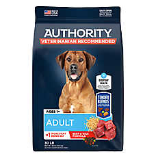 Authority® Tender Blends ™ Adult Dog Food - Beef & Rice