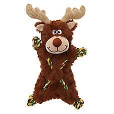 Top Paw® Rope Skeleton Moose Dog Toy - Crinkle, Rope