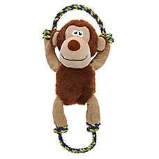 Top Paw® Rope Skeleton Monkey Dog Toy - Rope, Squeaker
