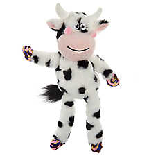 Top Paw® Rope Skeleton Cow Dog Toy - Rope Squeaker