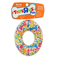 """Toys""""R""""Us® Pets Ring Dog Toy - Squeaker"""