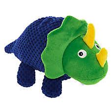 Top Paw® Triceratops Dog Toy - Plush, Squeaker