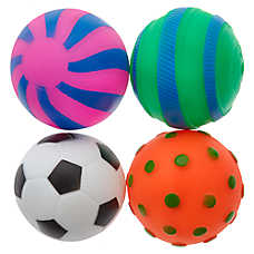 Grreat Choice® Ball Dog Toys - 4 Pack