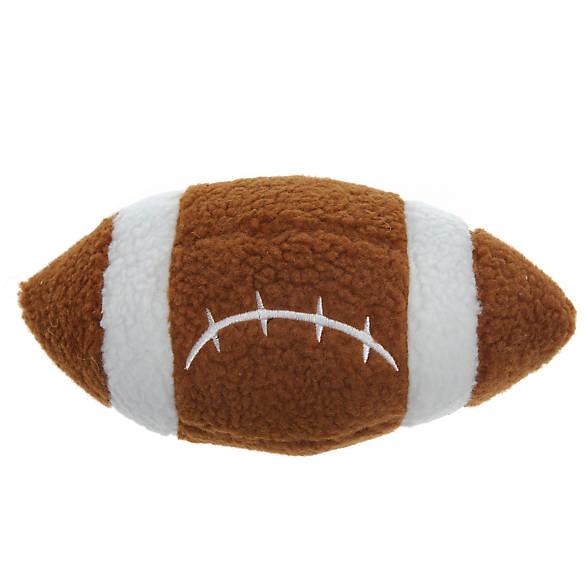 Top Paw 174 Football Dog Toy Plush Squeaker Dog Plush