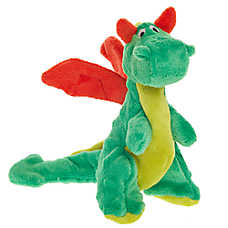 Top Paw® TUFF with Bite Shield™ Protection Dragon Dog Toy - Crinkle, Plush
