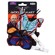 Jackson Galaxy® Crinkle Flies™ Butterflies Cat Toys - 2 Pack