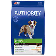 Authority® Puppy Food - Grain Free, Chicken & Pea