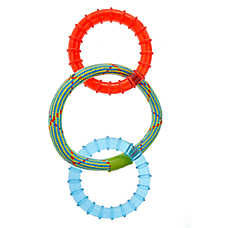 Top Paw® Rope & Rings Dog Toy