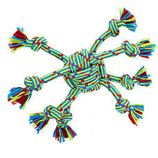 Top Paw® Rope Spider Dog Toy