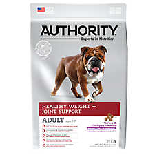 Authority® Healthy Weight + Joint Support Adult Dog Food - Turkey & Chickpea