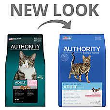 Authority® Adult Cat Food - Salmon & Rice