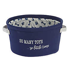 "Top Paw® ""So Many Toys... So Little Time"" Toy Box"