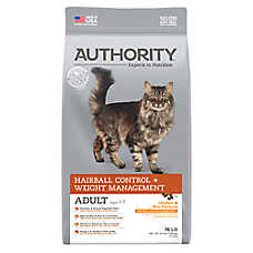 Authority® Hairball Control & Weight Management Adult Cat Food - Chicken & Rice