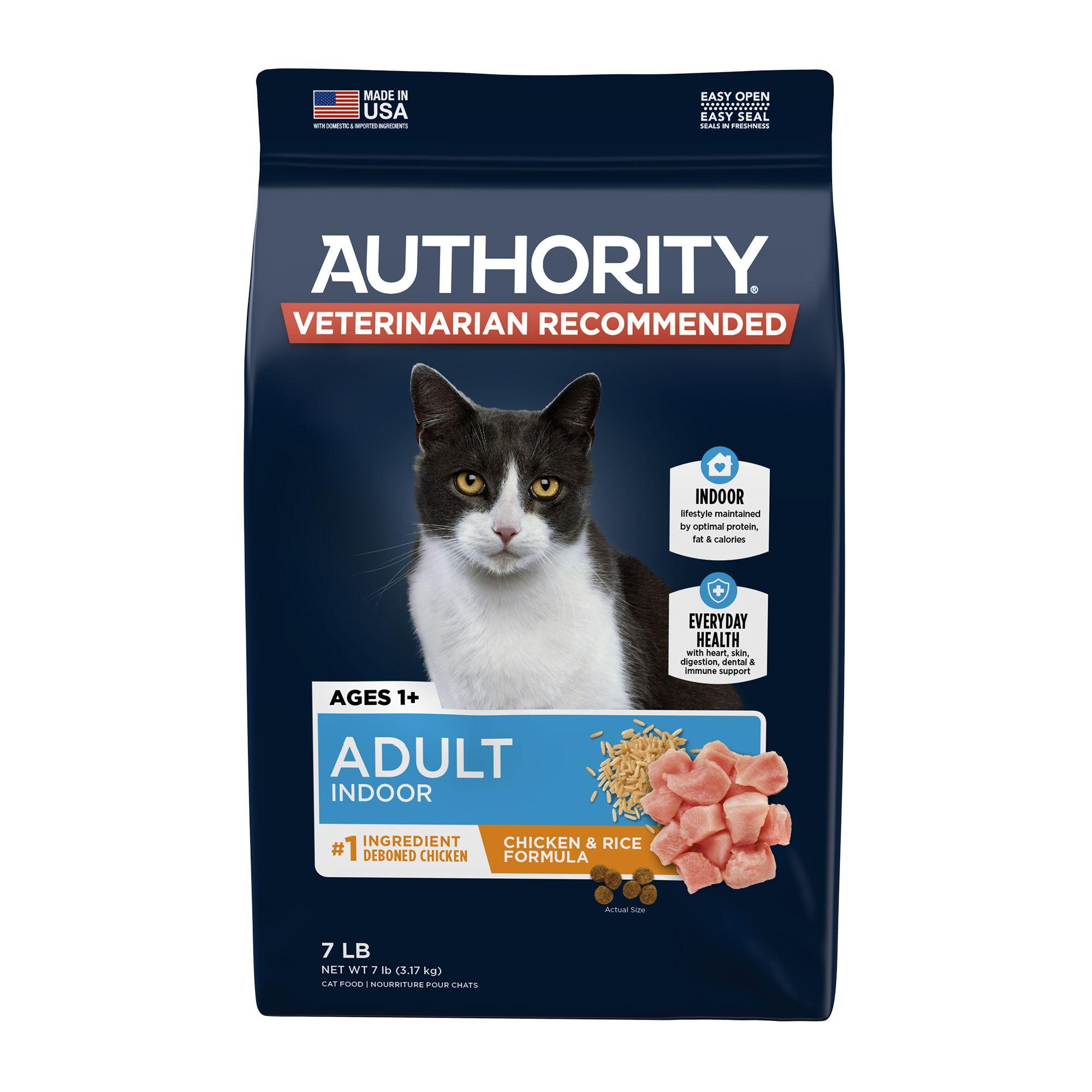 Authority Indoor Adult Cat Food Chicken Rice Cat Dry Food Petsmart