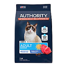 Authority® Indoor Adult Cat Food - Tuna & Rice
