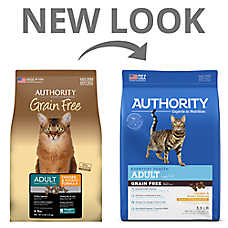 Authority® Adult Cat Food - Grain Free , Chicken & Potato