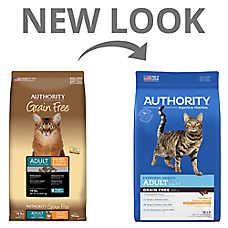 Authority® Adult Cat Food - Grain Free , Chicken & Potato