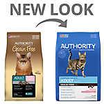 Authority® Adult Cat Food - Grain Free, Salmon & Potato