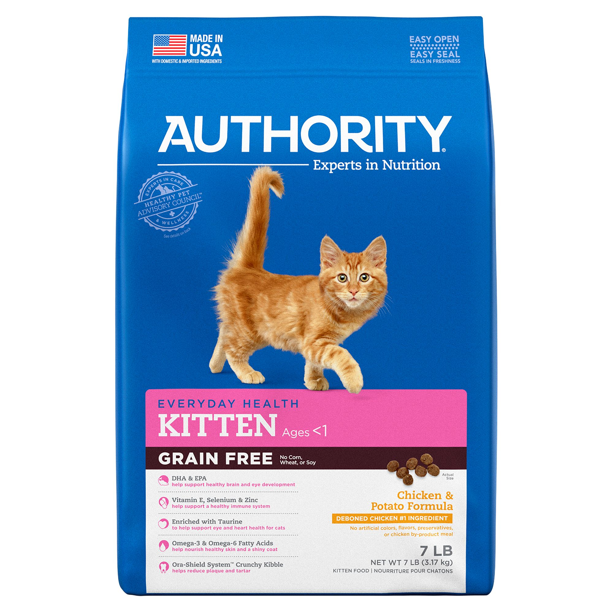 Authority Grain Free Kitten - Chicken & Potato