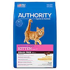 Authority® Kitten Food - Grain Free, Chicken & Potato