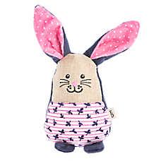 ED Ellen DeGeneres Floral Bunny Dog Toy - Plush, Squeaker