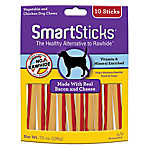 Smartsticks (R) Rawhide Alternative Dog Treat - Bacon and Cheese