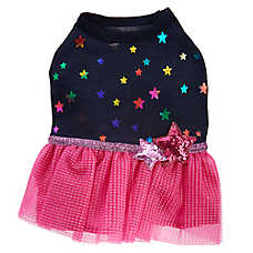 Top Paw® Stars & Tulle Pet Dress