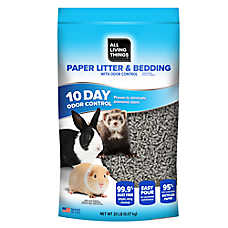 All Living Things® Odor Control Small Pet Paper Litter & Bedding