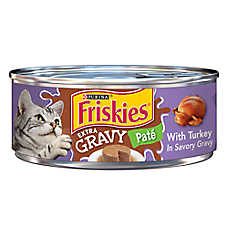 Purina® Friskies® Extra Gravy Paté Cat Food