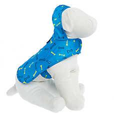 Top Paw® Dog Bone Packable Pet Raincoat
