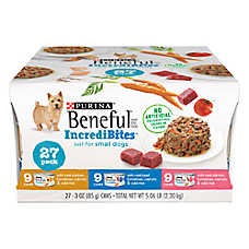 Purina® Beneful® IncrediBites Small Dog Wet Food Variety Pack