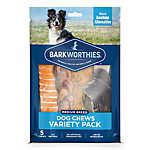 Barkworthies Medium Dog Variety Pack Dog Chew - Natural, 5 ct