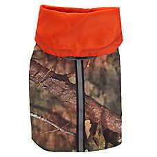 Mossy Oak® Camouflage Reflective Dog Raincoat