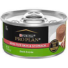 Purina® Pro Plan® Focus Sensitive SKin & Stomach Adult Wet Cat Food - Grain Free, Duck