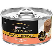 Purina® Pro Plan® Prime Plus Adult Cat Food - Cod & Shrimp