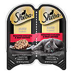 Sheba® Perfect Portions Cuts in Gravy Roasted Chicken & Beef Pate Cat Food