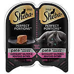 Sheba® Perfect Portions Salmon & Seafood Pate Cat Food