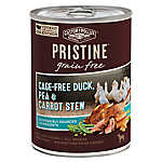 Castor & Pollux PRISTINE ™ Stew Wet Cat Food - Natural, Grain Free, Duck, Pea & Carrot