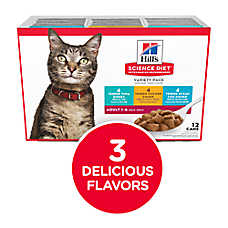 Hill's® Science Diet® Tender Variety Pack Wet Cat Food