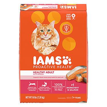 Iams Proactive Health Healthy Adult Cat Food Salmon Tuna Cat