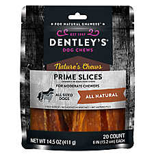 Dentley's® Nature's Chews Prime Slices Dog Treat