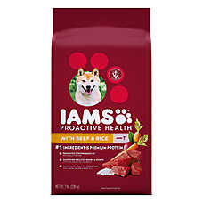 Iams Proactive Health ™ Adult Dog Food - Beef & Rice
