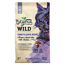Purina® Beyond® WILD Natural Cat Food - Grain Free, Turkey & Lentil