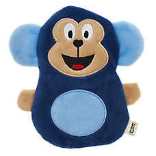 ED Ellen DeGeneres Monkey Flattie Dog Toy - Crinkle