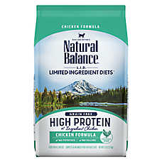 Natural Balance Limited Ingredient Diets Cat Food - Grain Free, High Protein, Chicken