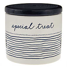"ED Ellen DeGeneres ""Special Treats"" Ceramic Pet Treat Jar"
