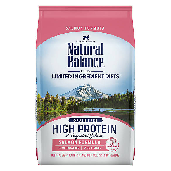 Natural Balance Limited Ingredient Diets Cat Food Grain