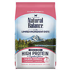 Natural Balance Limited Ingredient Diets Cat Food - Grain Free, High Protein, Salmon