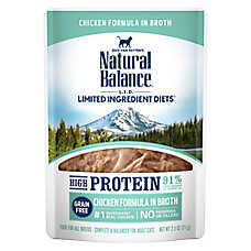 Natural Balance Limited Ingredient Diets Wet Cat Food - Grain Free, High Protein, Chicken