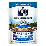 Natural Balance Limited Ingredient Diets Wet Cat Food - Grain Free, High Protein, Tuna